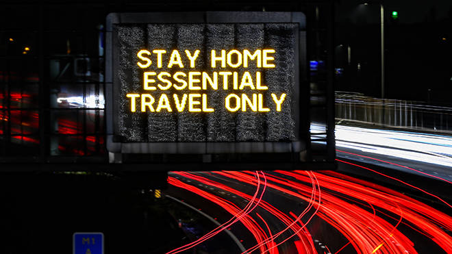 Travel is advised to be kept to a minimum under current lockdown rules