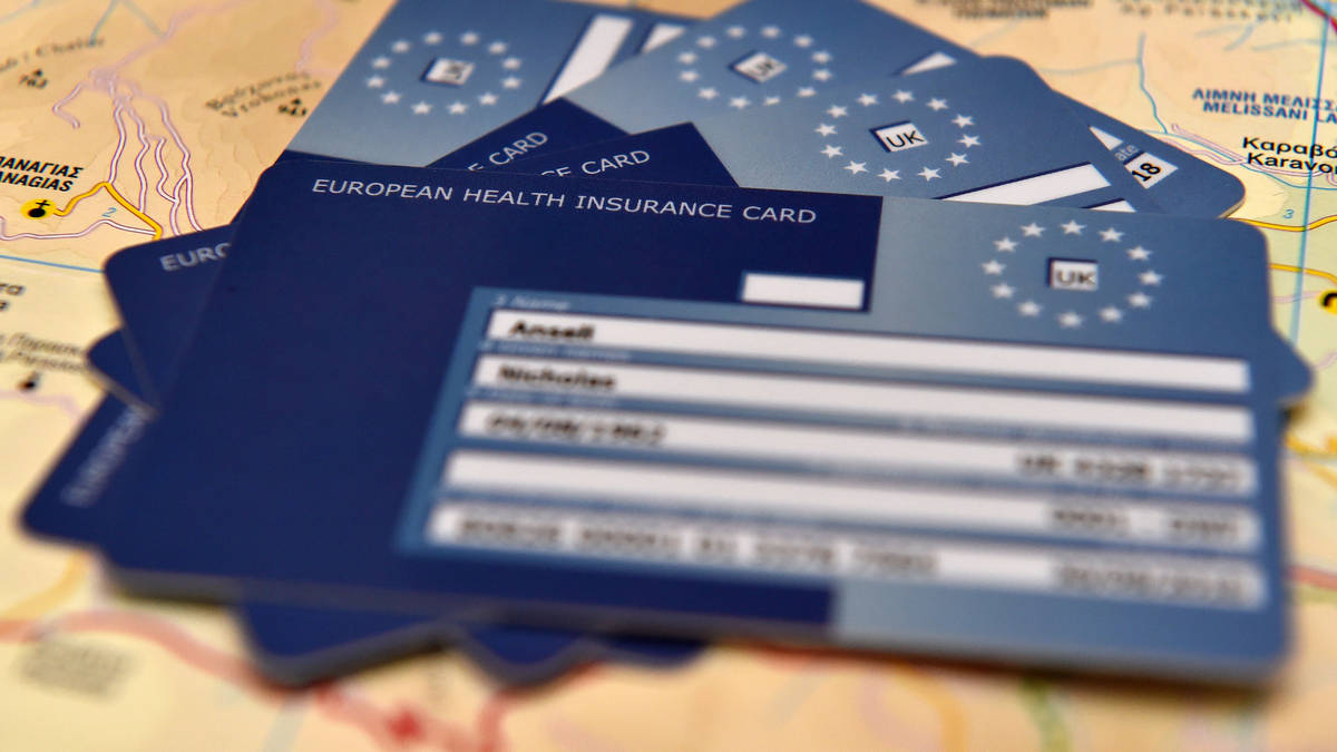 Post-Brexit global healthcare insurance card for ...