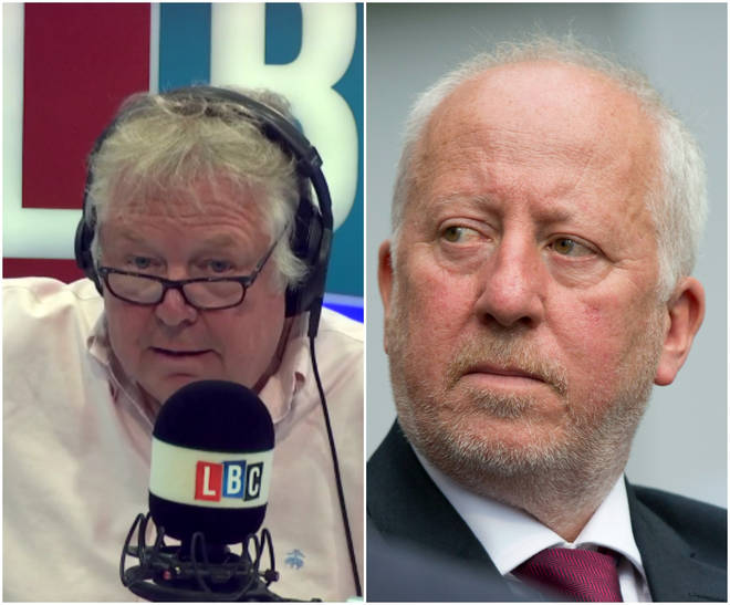 Nick Ferrari and Andy Mcdonald
