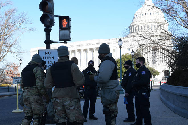 The FBI warning came after violent protests at the Capitol building