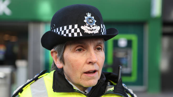 Met Police commissioner Cressida Dick said rule breakers should expect fines