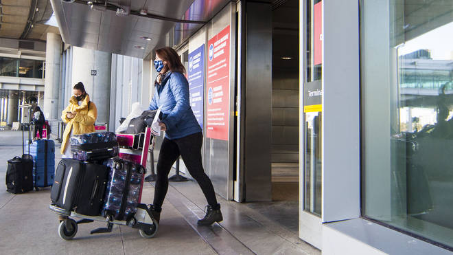 New rules that will require international travellers to test negative for coronavirus before arriving in England will come into force from Friday