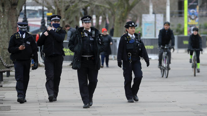 Police are cracking down on people who flout covid restrictions