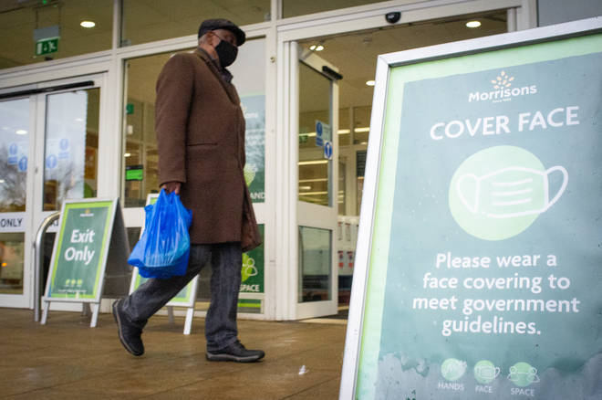 Supermarkets have remained open through the pandemic