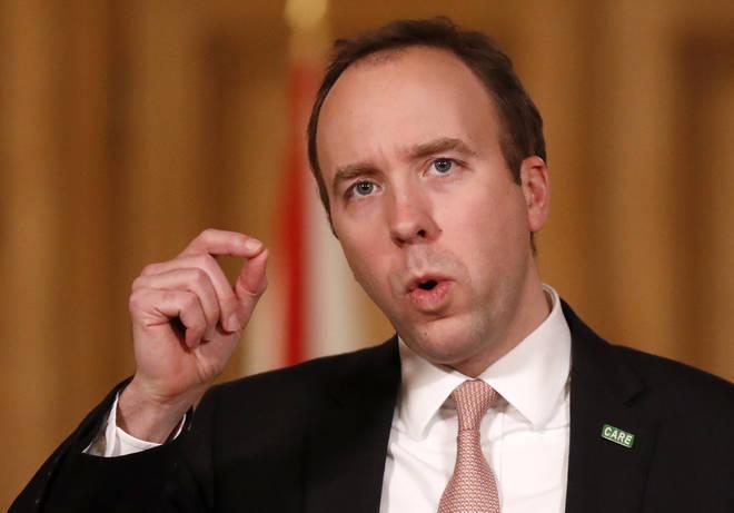Health secretary Matt Hancock announced sweeping reforms to mental health care