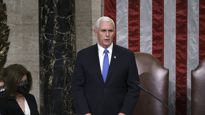 Mike Pence has ruled out invoking the 25th amendment on President Trump