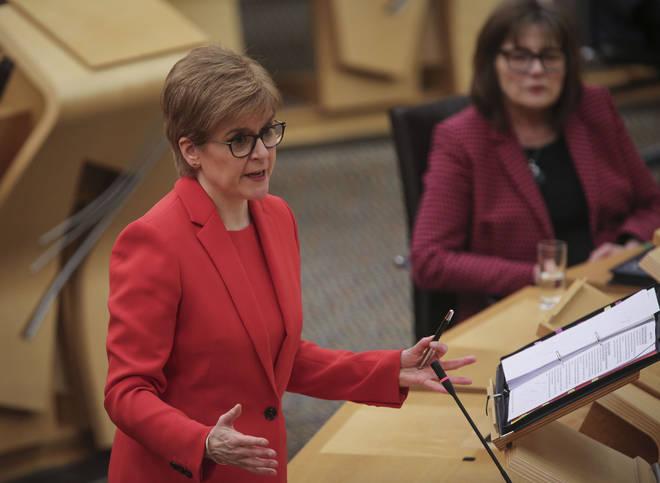 Scotland will be toughening its Covid-19 rules, Nicola Sturgeon has announced