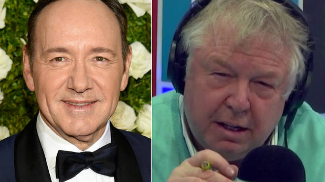 Nick Ferrari criticised Kevin Spacey's response to the harassment claims