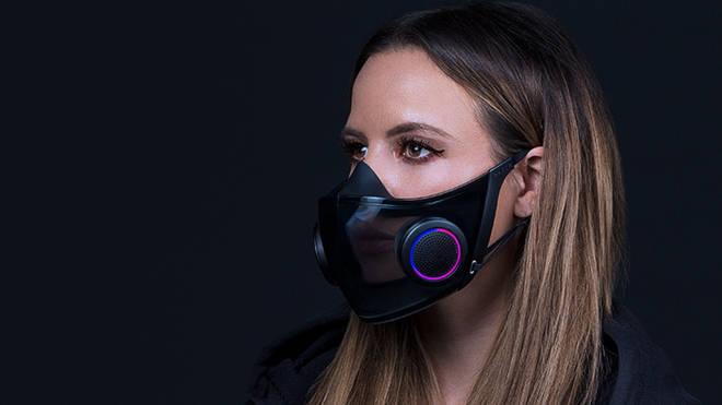 Razer's Project Hazel concept face mask