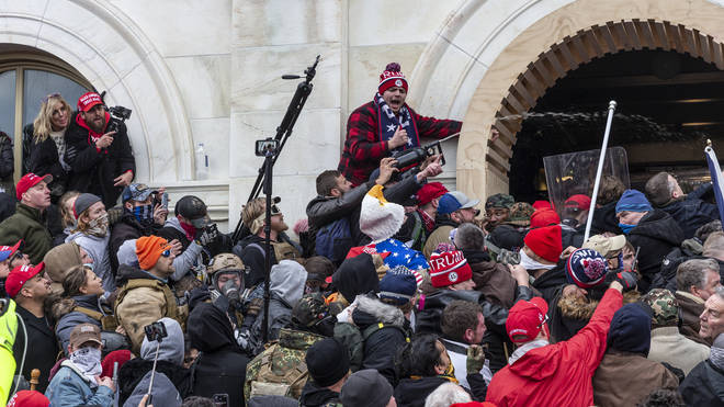 The Capitol descended into chaos last week after Trump supporters stormed the Capitol