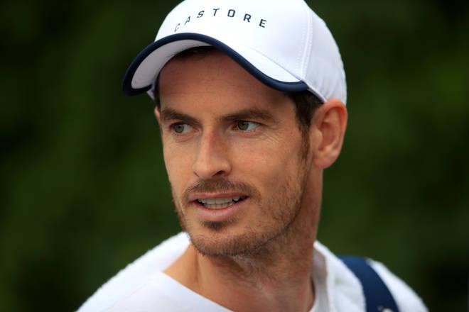 Tennis star Andy Murray has tested positive for coronavirus