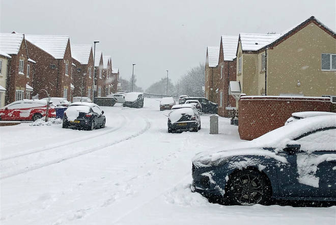 A major incident has been declared by Yorkshire Ambulance Service due to the heavy snow