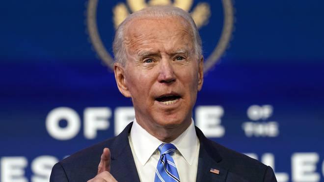 President-elect Joe Biden is to unveil a 1.9 trillion dollar coronavirus plan