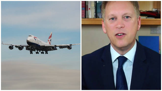 Grant Shapps said the London to New York flight path could open under the new presidnet