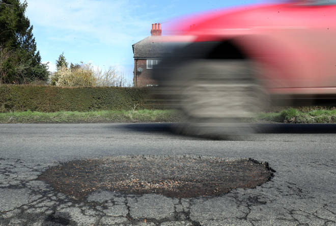 Potholes cause chaos for motorists every year