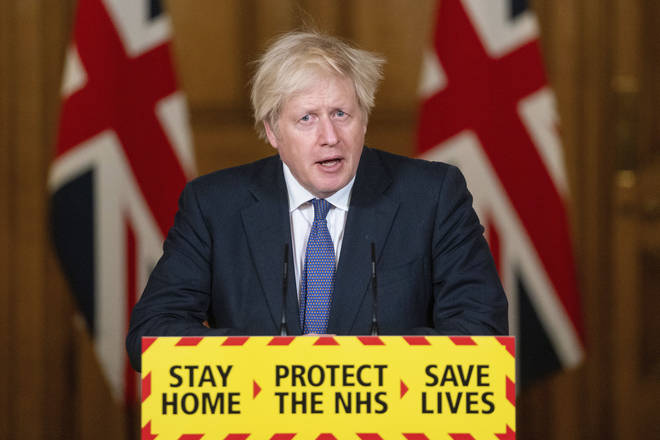 Boris Johnson said the UK will close all its travel corridors from Monday morning