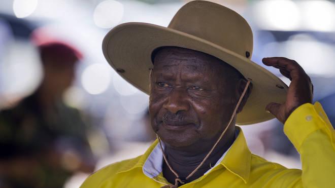 Uganda's long-time President Yoweri Museveni