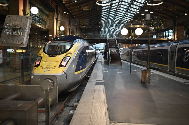 Eurostar passenger numbers have taken a 95% hit since March 2020