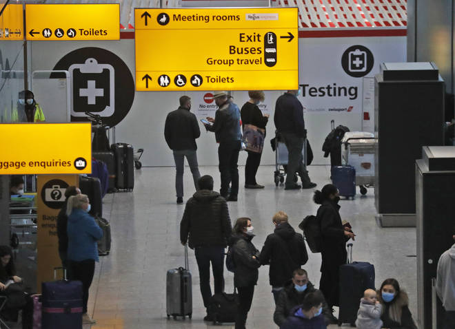 From today, everyone who arrives into the UK must go into quarantine