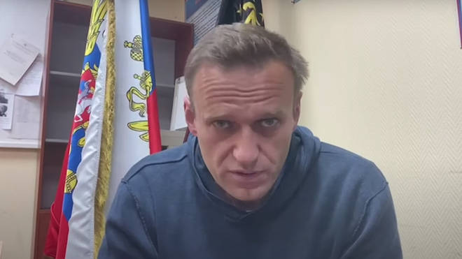 """Russian opposition leader Alexei Navalny has told his supporters to """"take to the streets"""""""