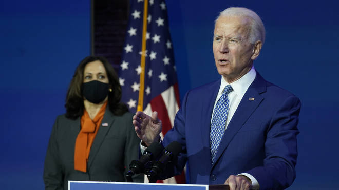 But Mr Biden immediately said these lifting of restrictions will not be put in place