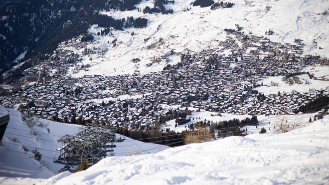 10 people were swept away in the avalanche in Verbier in the Swiss Alps
