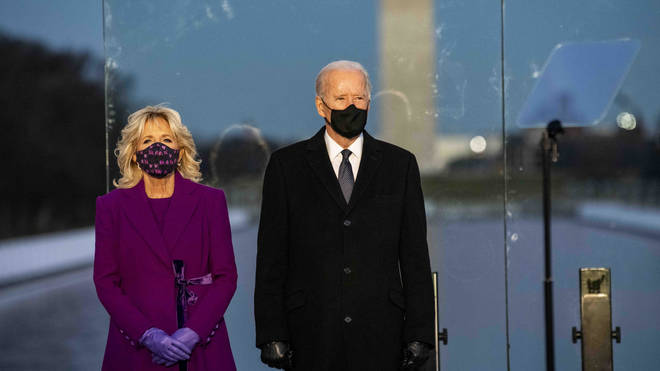 Biden will focus on getting the pandemic back under control when he takes the reigns later today