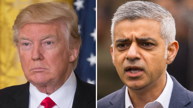 Sadiq Khan has repeatedly clashed with Donald Trump during his presidency