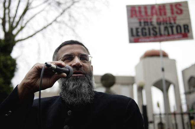 The hate preacher served half of his sentence inside prison