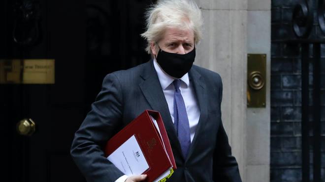 Boris Johnson said the latest coronavirus death figures for the UK were 'appalling'