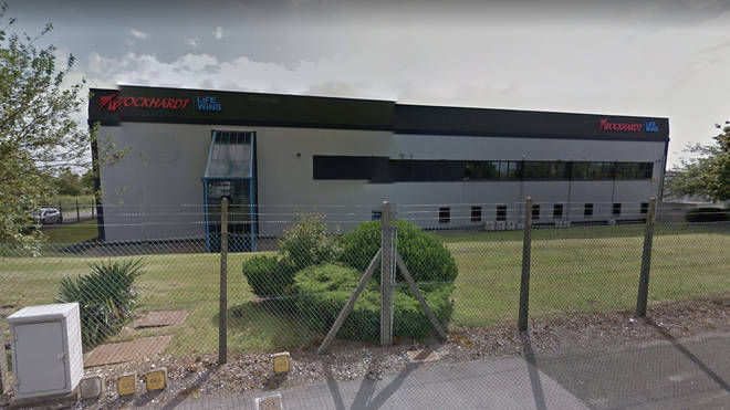 Emergency Service teams have been working through the night to protect the Wrexham factory producing the Oxford/AstraZeneca Covid-19 vaccine from flooding