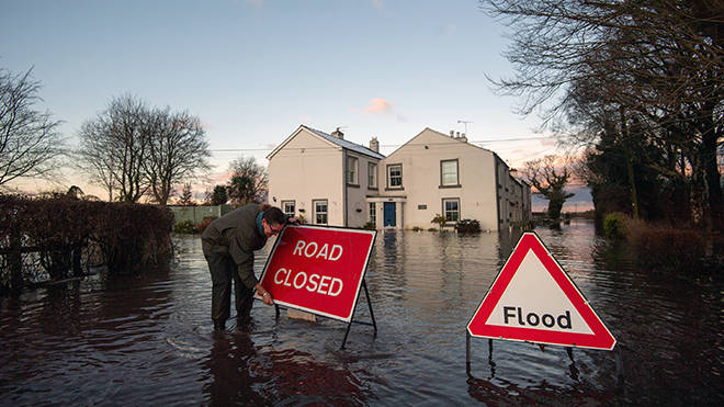 Storm Christoph has caused flooding devastation in parts of England and Wales