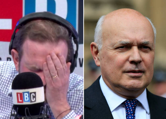 James O'Brien and Iain Duncan Smith