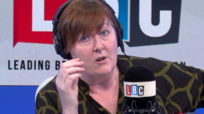 Anjem Choudary sparked an on-air row between Shelagh and a caller