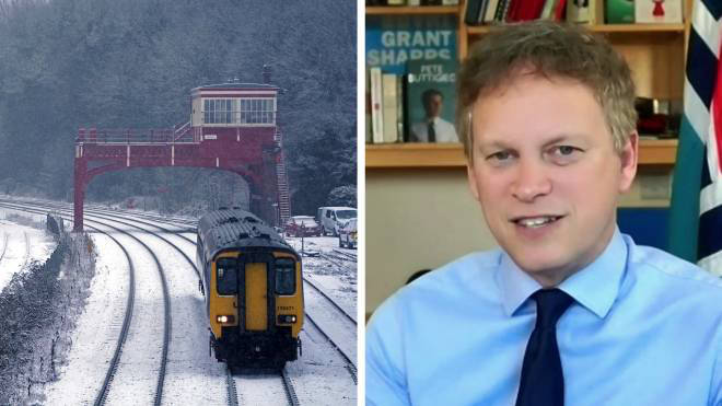Grant Shapps explained to LBC how the railway funding will be distributed