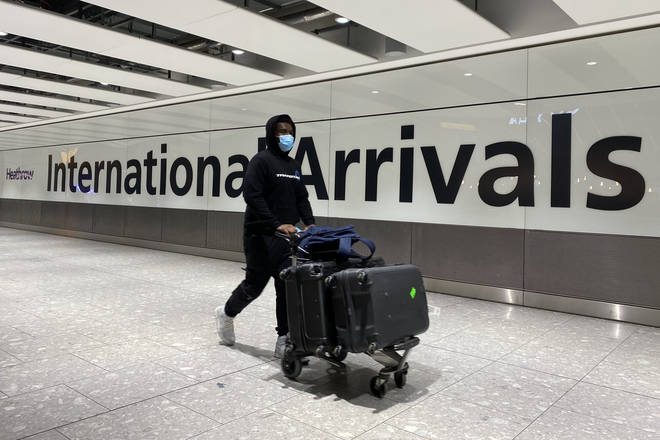 Travellers arriving into the UK could soon be forced to quarantine in hotels on arrival.