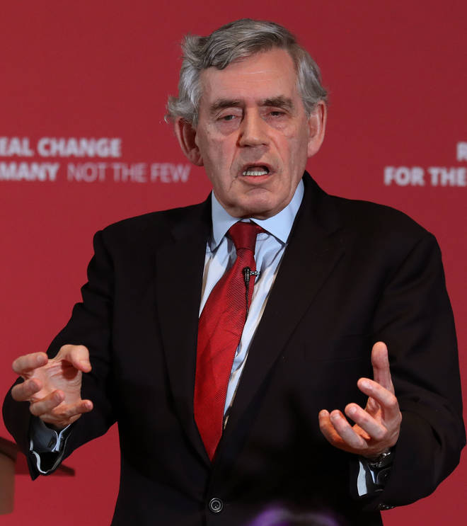 "Gordon Brown said the UK risks becoming a ""failed state"" unless it makes reforms to the union"