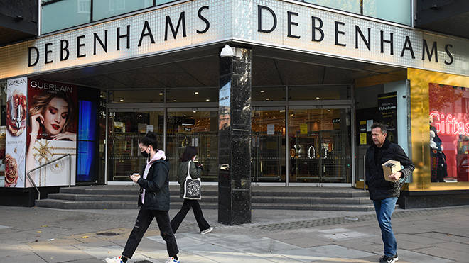 Debenhams boy out: The brand has been bought out by Boohoo
