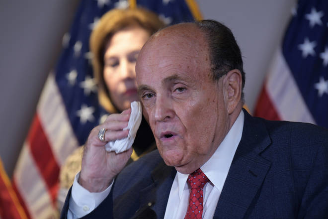 Dominion brought the $1.3bn lawsuit against Rudy Giuliani over claims he spread falsehoods about the company