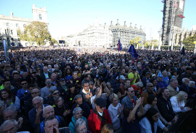 Nearly 700,000 attended the People's Vote March in central London.