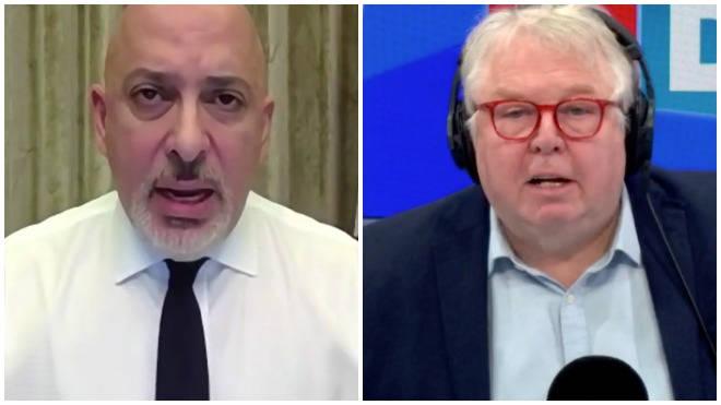Nadhim Zahawi spoke with Nick Ferrari on LBC