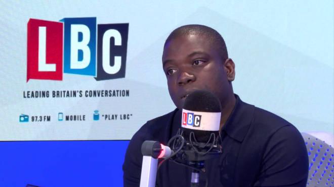 Kweku Adoboli in the LBC studio