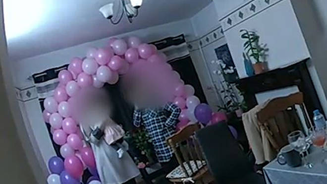 Police break up 20 person baby shower