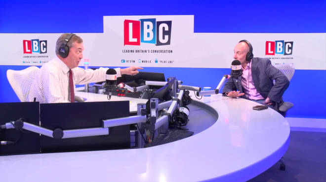 Nigel Farage clashes with Lord Andrew Adonis over Brexit