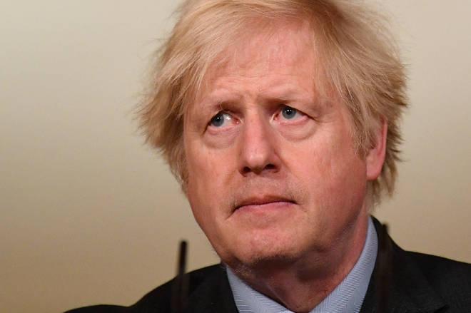 "Boris Johnson has said ""it&squot;s hard to compute the sorrow"" of reaching 100,000 Covid deaths"
