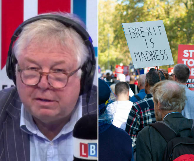 Nick Ferrari had a message for the People's Vote marcher