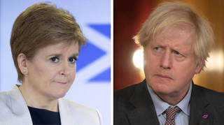 "Nicola Sturgeon said the prime minister's journey to Scotland is ""not essential"""