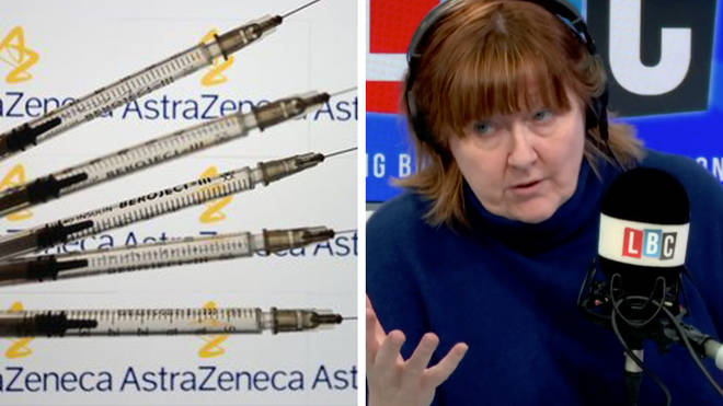 "The dispute over the rollout of the Covid-19 vaccine between the EU and AstraZeneca has ""become extremely bitter"", LBC&squot;s Shelagh Fogarty has been told."