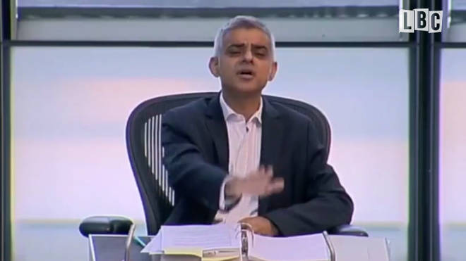 "Sadiq Khan: ""Just Calm Down"""