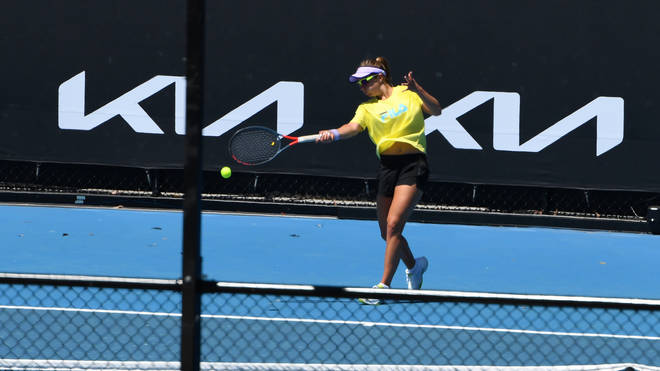 The Australian open will allow up to 30,000 spectators per day